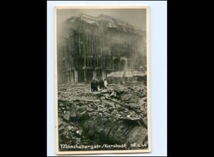 XX14660/ Hamburg zerstört Mönckebergstr. Karstadt 1944 Hugo Schmidt Foto AK