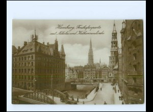 XX14273/ Hamburg Freihafen Foto KA ca.1912