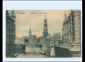XX14274/ Hamburg Freihafen AK 1910