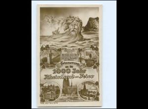 XX14423/ 1000 Jahr Rheinland-Feier Ross Foto AK 1925