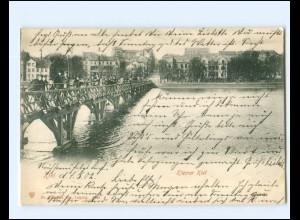 XX14339/ Kiel Kleiner Kiel AK 1902