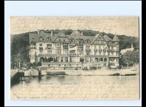 XX14347/ Kiel Seebadeanstalt - Logierhaus AK 1902