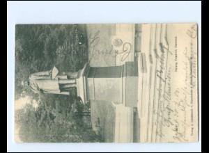 XX14348/ Kiel Herzog Friedrich Denkmal AK 1903
