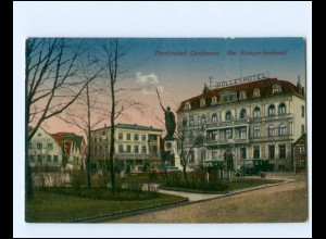 XX14351/ Cuxhaven Am Kriegerdenkmal AK ca.1920