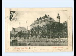 XX14353/ Kiel Königliches Schloß AK 1900