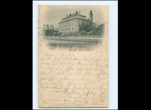 XX14357/ Kiel Schloss 1897 AK