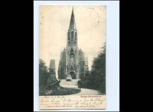 XX14442/ Kiel Marine-Ganisonskirche AK 1903