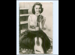 XX14415/ Sophia Loren mit Gitarre Kolibri AK ca.1960