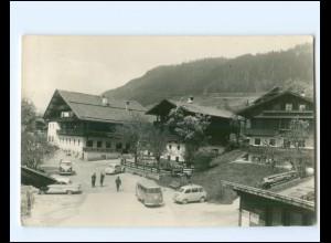XX14248/ Alpbach Gasthof Post Tirol VW Käfer Bus 1960 AK
