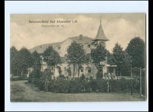 XX14135/ Bad Albersdorf i. H. Bahnhofs-Hotel AK 1907
