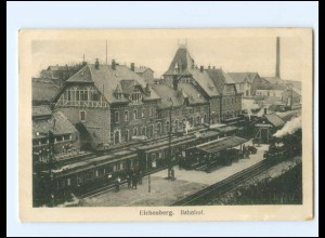 XX14145-3433/ Neu-Eichenberg Bahnhof AK 1918