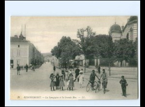 XX14652/ Remiremont La Synagogue Synagoge AK Judaika Frankreich ca.1910