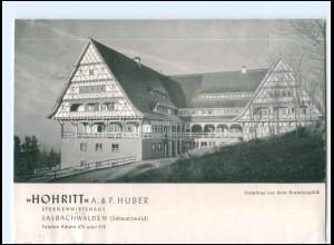 XX14192-7595/ Sasbachwalden bei Achern Wirtshaus Hohritt AK 1956