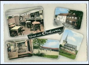 XX14191-4041/ Oekoven bei Rammerskirchen Gasthof zur Post AK 60er Jahre