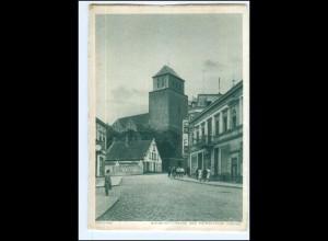 XX14428/ Dirschau Bahnhofstraße Pommern AK 1941