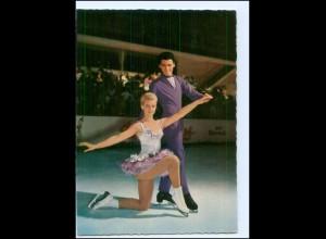 XX14447/ Eiskunstlaufen Marika Kilius + H.-J. Bäumler AK
