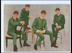 XX14216/ The Beatles Autogrammkarte ca.1965