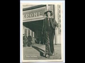 XX14448/ Zirkus Krone Bimbo der längste Mann Europas Riese AK 50er Jahre