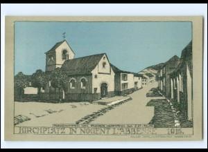 XX14564/ Nogent L`Abbesse Frankreich 1915 Litho Künstler AK Julius Jahr