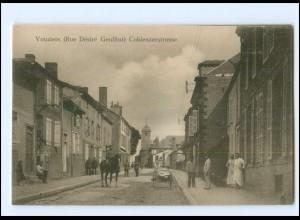 XX14530/ Vouziers Coblenzerstraße Frankreich AK 1. Weltkrieg ca. 1915