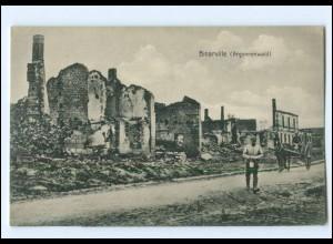 XX14535/ Binarville Argonnenwald Frankreich AK 1. Weltkrieg ca. 1915