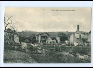 XX14539/ Chevreux bei Craonne Frankreich AK 1. Weltkrieg ca. 1915