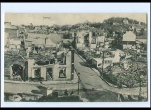 XX14543/ Rethel zerstört Frankreich AK 1. Weltkrieg ca. 1915