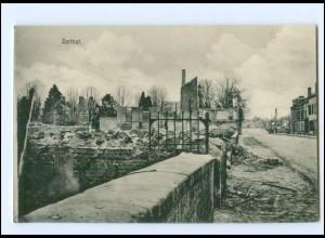 XX14544/ Rethel zerstört Frankreich AK 1. Weltkrieg ca. 1915