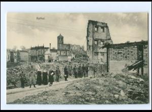 XX14546/ Rethel zerstört Frankreich AK 1. Weltkrieg ca. 1915
