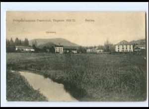 XX14555/ Beulay Vogesen Frankreich 1. Weltkrieg 1914/15 AK