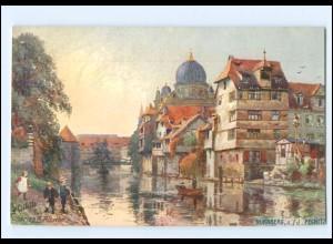 XX14581/ Nürnberg mit Synagoge Tuck`s Postkarte AK ca.1910