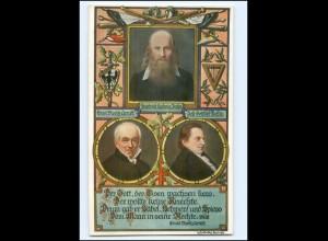 XX14613/ Tuck`s Postcard AK Zur Hundertjahrfeier 1913 L. Jahn,Gottlieb Fichte