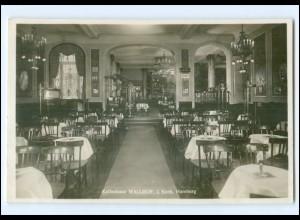 XX14583/ Hamburg Kaffeehaus Wallhof Foto AK 1935