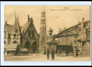 XX14584/ Hamburg Kornhaus Brücke AK ca.1912