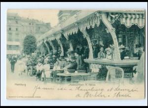 XX14585/ Hamburg Alsterpavillon AK 1902