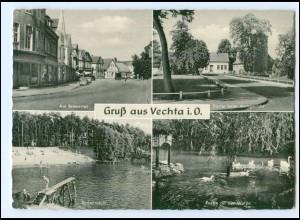 XX14588-2848/ Vechta Bremertor, Badeanstalt AK 1957