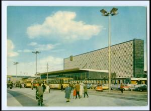 XX14626/ Braunschweig Bahnhof Straßenbahn Autos Isetta AK
