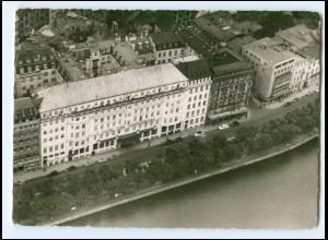 XX14628/ Hamburg Neuer Jungfernstieg Hotel Vier Jahreszeiten AK ca.1960