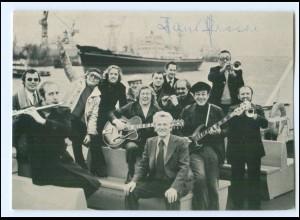 Y20018/ Hamburger Hafenorchester Leitung Hans Freese mit Unterschrift AK
