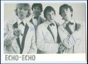 Y19963/ Echo-Echo Autogramm WEA-Karte
