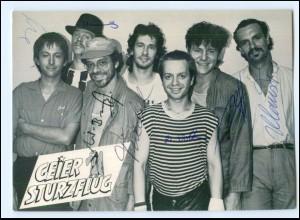 Y19964/ Geier Sturzflug Autogramm Ariola-Karte