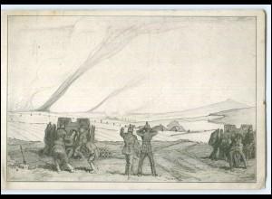 Y19979/ Aus den Tagen des Vormarsches in Russland 1915 1. Weltkrieg AK