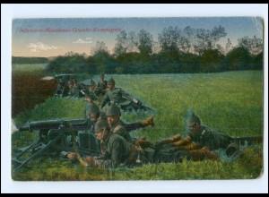 Y20087/ Das Deutsche Heer 1. Weltkrieg AK Infant.-Maschinengewehr-Komp. 1916