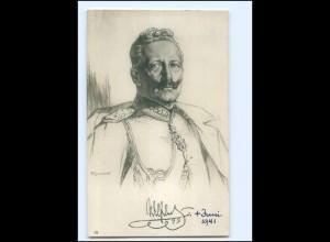 Y19983/ Kaiser Wilhelm Foto AK