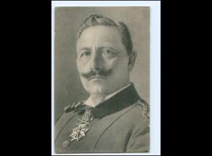 Y19984/ Kaiser Wilhelm mit Ehrenzeichen AK ca.1915