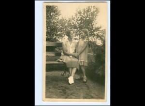 Y20001/ Mutter und Tochter Foto AK ca.1935