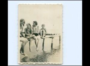 Y20091/ Badeleben Strandleben Privat Foto ca. 1935