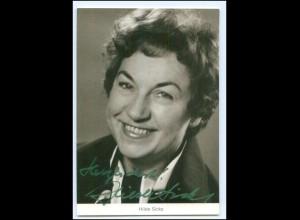 Y19968/ Hilde Sicks Autogramm Ohnsorg-Schauspielerin