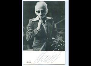 Y19970/ Heino Autogramm Emi-Electrola Autogrammkarte