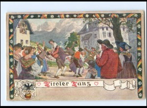 V1878/ Verlag des Vereines Südmark Nr. 122 Tiroler Tanz ca.1912